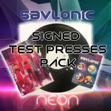 Savlonic  Ultra Rare Signed Neon Vinyl Signed Test Press Packs